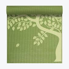 tree of print mat 3mm gaiam
