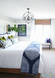 White Curtains With Blue Trim Decorating Best 25 Blue And White Bedding Ideas On Pinterest Blue White
