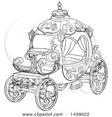 carriage clipart disney cinderella pencil color carriage