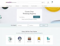 online wedding registry we review wayfair s new wedding registry option