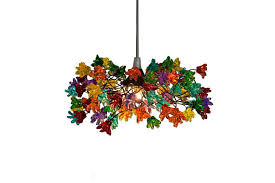 multi colored light fixture ceiling light fixtures with multicolored jumping flowers for