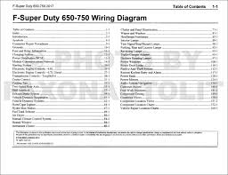 2017 ford f 650 and f 750 super duty truck wiring diagram manual