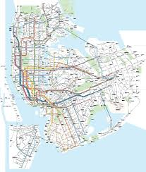 New York Rail Map by Submission U2013 Unofficial Map New York Subway And Transit Maps