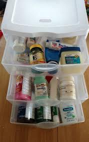 Organize Medicine Cabinet Medicine Cabinet Organization Sunshine And Munchkins