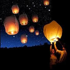 lanterne chinoise mariage jzk 10 x blanc lanterne volante papier lanterne chinoise 80 x 55