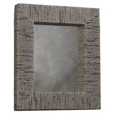 recycled newspaper rectangular mirror for the home wall decor