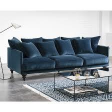 canapé convertible velours canapé convertible velours bleu maison et mobilier d intérieur