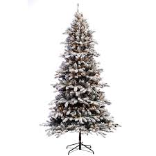 7 5 ft evergreen set artificial tree with 550