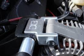 corvette alternator bracket d3pe alternator relocation bracket