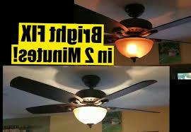 hton bay sidewinder ceiling fan hton bay ceiling fan light works but not ceiling light ideas