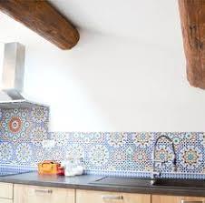 credence cuisine imitation crédence de cuisine imitation carreaux de ciment inspiration
