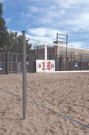 Backyard Volleyball Nets Match Point Competition Outdoor Volleyball System Bison Inc