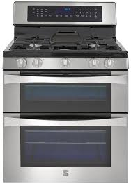kenmore elite 76033 6 1 cu ft double oven gas range w convection