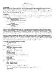 ap world history period 6 study guide ap world history 2014 2015 course syllabus