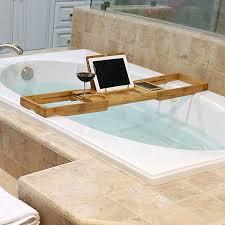 bathtub caddy with book holder bathtubs terrific chrome bath caddy with book holder 93 bamboo