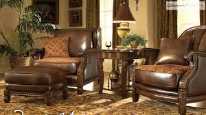 decorating essex manor living room set by michael amini furniture