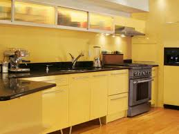 kitchen with yellow walls capitangeneral