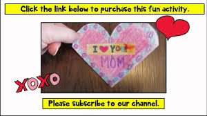 valentines day cards crafts for kids diy gifts pop up card