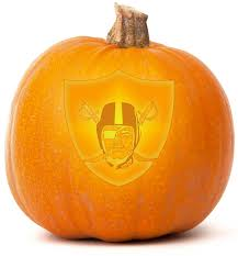 download our free oakland raiders pumpkin carving template