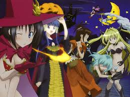 cute anime halloween wallpaper to love ru wallpapers group 70
