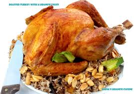 how to season the turkey for thanksgiving roasted turkey with a lebanese twist happy thanksgiving to all my