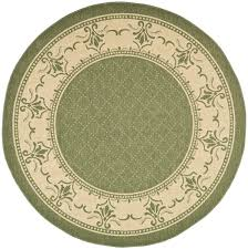 Outdoor Round Rugs by Weather Resistant Wilton Area Rug Safavieh Com