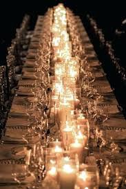 long reception table decorations centerpiece ideas simple wedding