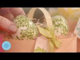 Easter Decorations Martha Stewart by Decoupage Eggs Martha Stewart Youtube