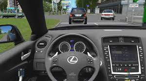 lexus isf test youtube city car driving lexus is f normal driving youtube