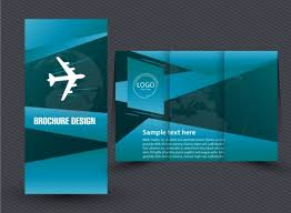trifold brochure template vectors stock for free download about