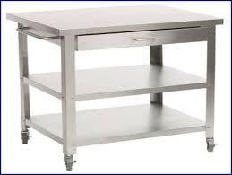 stainless steel topped kitchen islands stainless steel utility carts with wheels stainless steel kitchen
