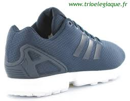 17123 adidas zx flux bleu marine et blanc jpg