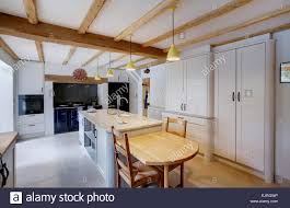 cream aga in country kitchen stock photos u0026 cream aga in country