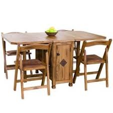 Dining Room Folding Chairs Butterfly Drop Leaf Folding Dining Table And Four Chairs Chairs