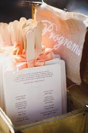 make your own wedding fan programs best 25 wedding programs ideas on wedding