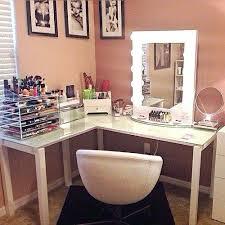 Glass Makeup Vanity Table Glass Vanity Table Glass Vanity Desk Medium Size Of Medium Size Of