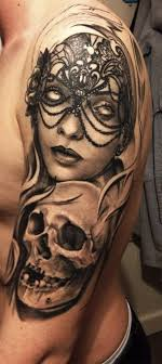 half sleeve and skull designs tattooshunt com