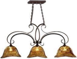 21009 lamps and lighting uttermost vetraio 3 lt bronze kitchen
