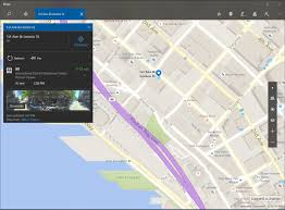 Times Square Map Windows Maps Now Lets Insiders Tap Transit Stops For Arrival Times