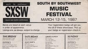 history sxsw conference u0026 festivals
