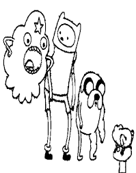 free cartoon adventure time coloring pages cartoon coloring