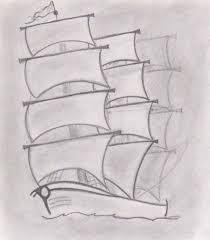 ship sketch by somiso on deviantart