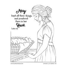 and baby jesus coloring page