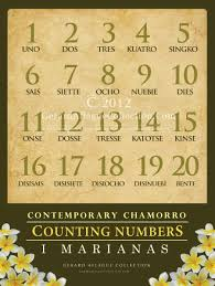 counting numbers 1 to 20 guam gifts guam learning contemporary chamorro counting