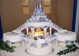 castle cakes for weddings