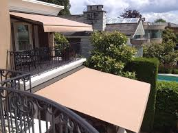magnificent retractable deck and patio awning above vintage