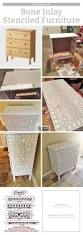 185 Best Diy Furniture Images by Create Your Own Bone Inlay Stenciled Furniture Stencil Stories