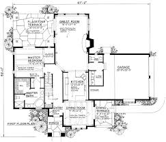 cottage floor plan plan 43001pf cottage cottages sitting area and