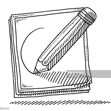 cartoon pencil drawing vector art getty images