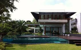 bungalow design tropical bungalow inspired residence in singapore by guz